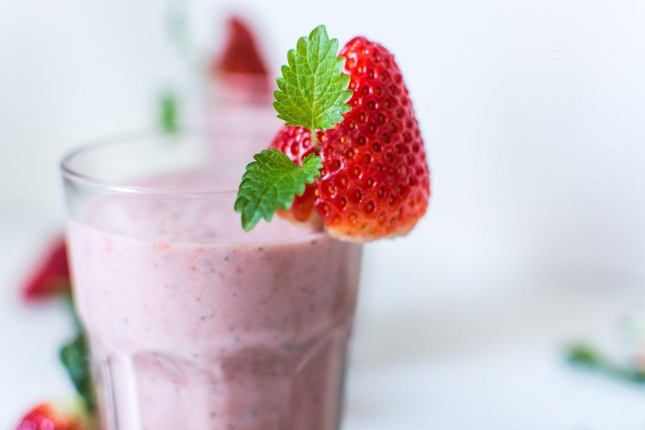 Crème dessert à la fraise