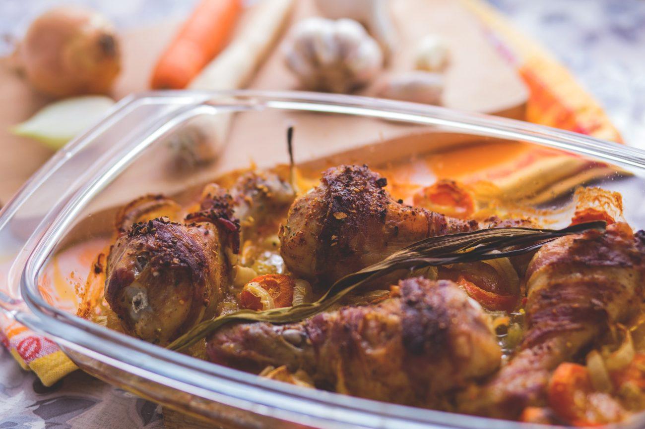 Cuisses de poulet au romarin