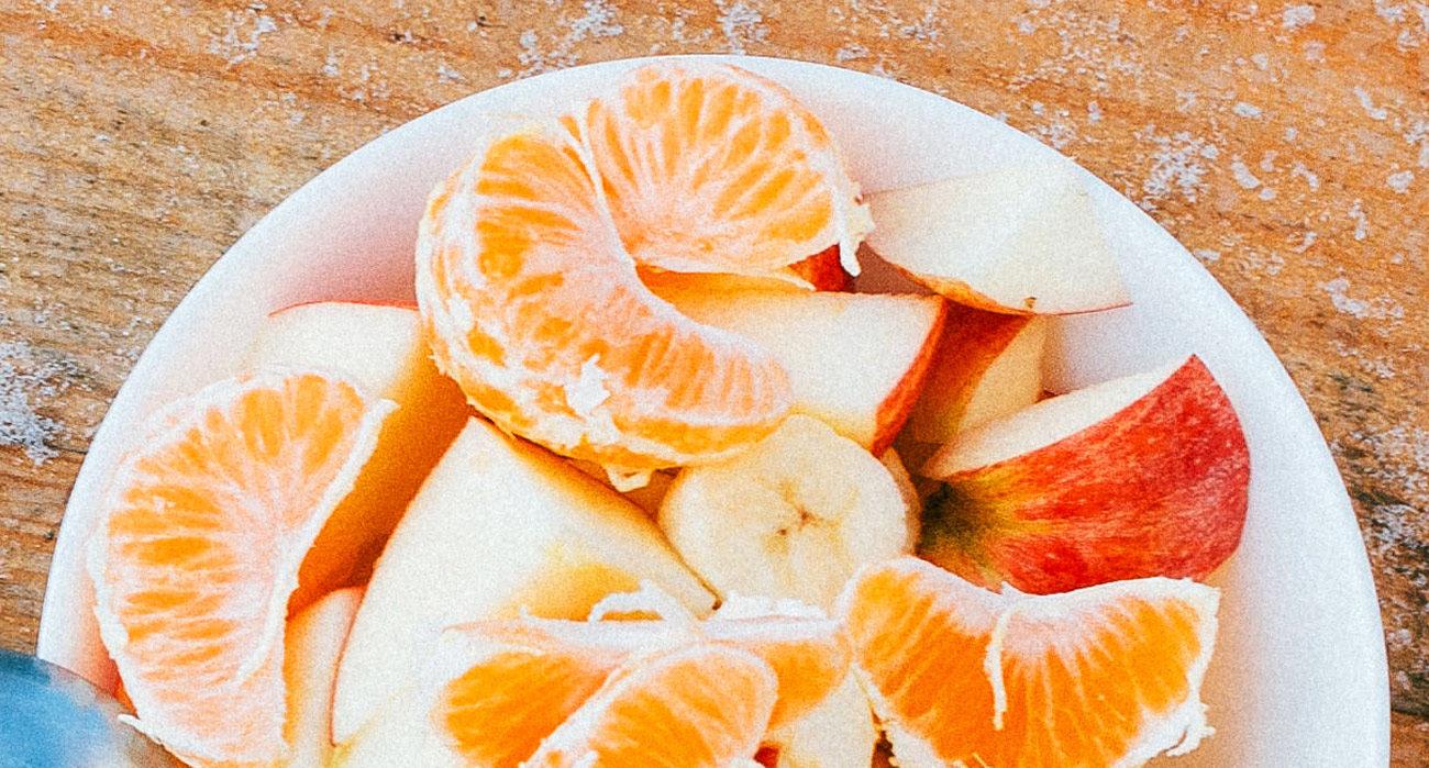 Salade de fruits d'hiver aux épices